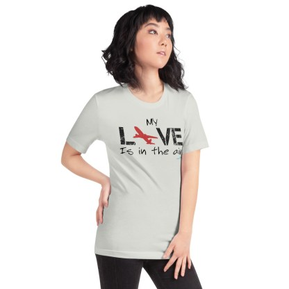 airplaneTees MY Love is in the air tee... Short-Sleeve Unisex 24