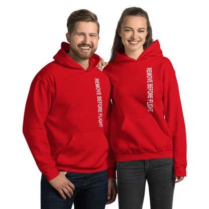 airplaneTees Remove before flight Hoodie - Unisex 13