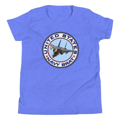 airplaneTees US NAVY BRAT youth tee... w/Back Printed - Youth Short Sleeve 16