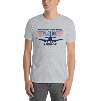 airplaneTees PILOT DAD tee... Short-Sleeve Unisex 1