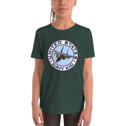 airplaneTees US NAVY KID Tee... Back Printed - Youth Short Sleeve 2