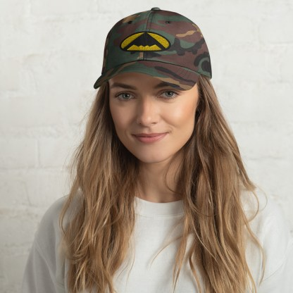 airplaneTees B2 Bomber Dad hat – In the style of Batman 2