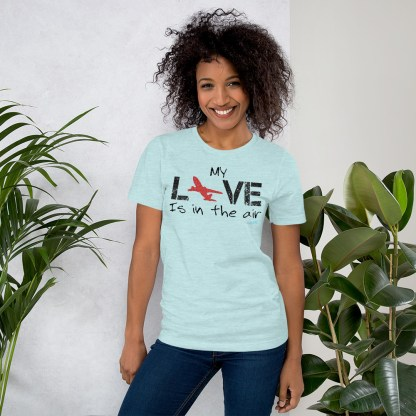 airplaneTees MY Love is in the air tee... Short-Sleeve Unisex 14