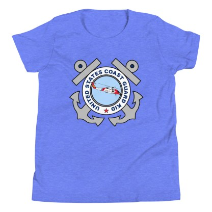 airplaneTees Coast Guard Kid tee... Youth Short Sleeve 1
