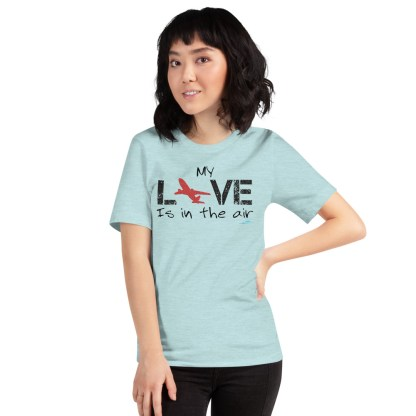 airplaneTees MY Love is in the air tee... Short-Sleeve Unisex 40