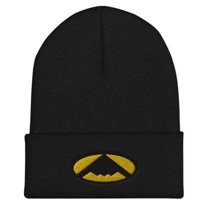 airplaneTees B2 Bomber Cuffed Beanie – In the style of Batman 4