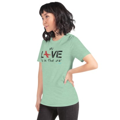 airplaneTees MY Love is in the air tee... Short-Sleeve Unisex 29