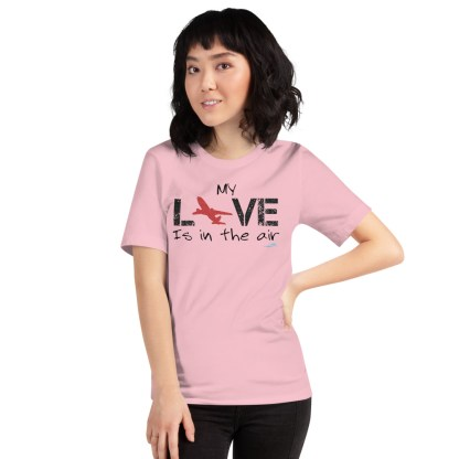 airplaneTees MY Love is in the air tee... Short-Sleeve Unisex 58