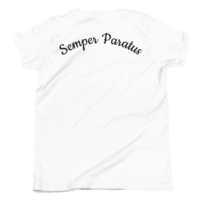 airplaneTees Coast Guard Kid- Back Printed... Youth Short Sleeve T-Shirt 15