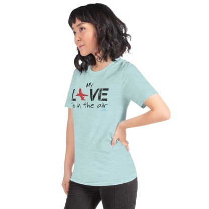 airplaneTees MY Love is in the air tee... Short-Sleeve Unisex 41