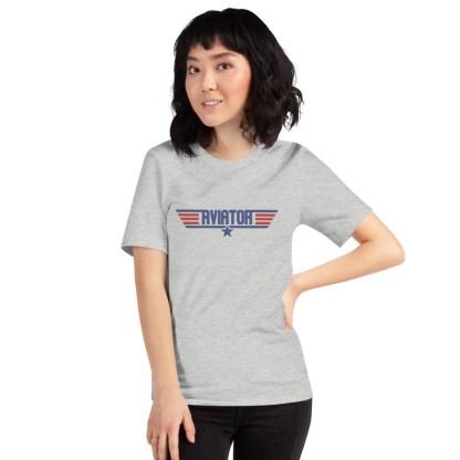 airplaneTees Aviator Maverick tee - Short-Sleeve Unisex 6