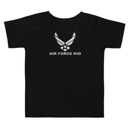 airplaneTees Air Force Kid tee... Toddler Short Sleeve 2
