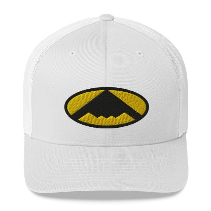airplaneTees B2 Bomber Trucker Cap – In the style of Batman 3
