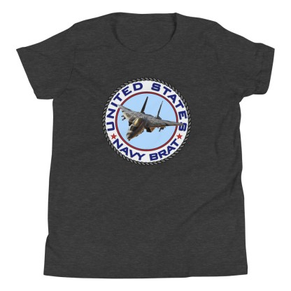 airplaneTees US NAVY BRAT youth tee... w/Back Printed - Youth Short Sleeve 8