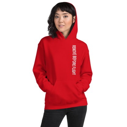 airplaneTees Remove before flight Hoodie - Unisex 4