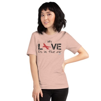 airplaneTees MY Love is in the air tee... Short-Sleeve Unisex 37