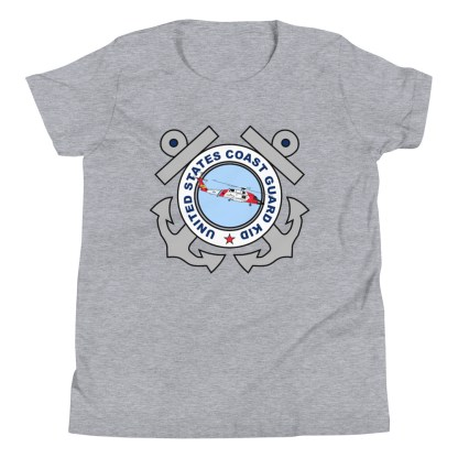 airplaneTees Coast Guard Kid tee... Youth Short Sleeve 8