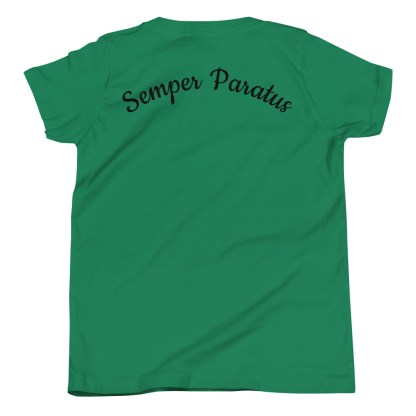 airplaneTees Coast Guard Kid- Back Printed... Youth Short Sleeve T-Shirt 1