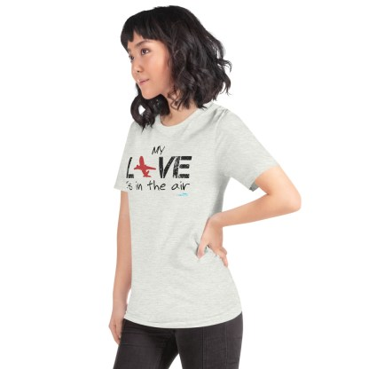 airplaneTees MY Love is in the air tee... Short-Sleeve Unisex 26
