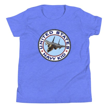 airplaneTees US NAVY KID Tee... Back Printed - Youth Short Sleeve 16
