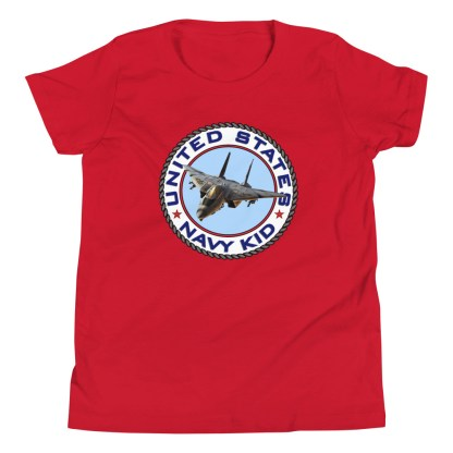 airplaneTees US NAVY KID Tee... Back Printed - Youth Short Sleeve 20