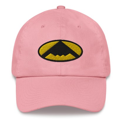 airplaneTees B2 Bomber Dad hat – In the style of Batman 6