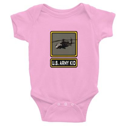airplaneTees US Army Kid Onesie... Rabbit Skins Infant Bodysuit 5
