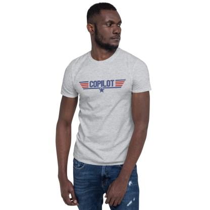 airplaneTees Copilot Maverick Style tee... Short-Sleeve Unisex T-Shirt 5