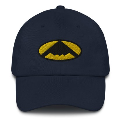 airplaneTees B2 Bomber Dad hat – In the style of Batman 4