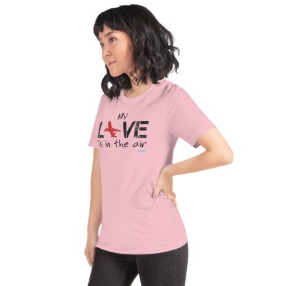 airplaneTees MY Love is in the air tee... Short-Sleeve Unisex 59