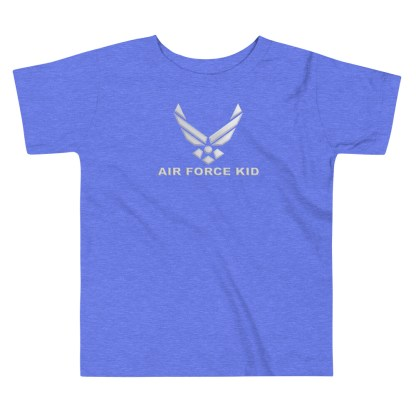 airplaneTees Air Force Kid tee... Toddler Short Sleeve 1
