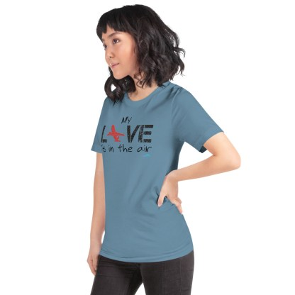 airplaneTees MY Love is in the air tee... Short-Sleeve Unisex 21