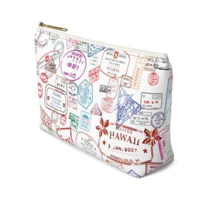 airplaneTees Going Places Accessory Pouch w T-bottom 16