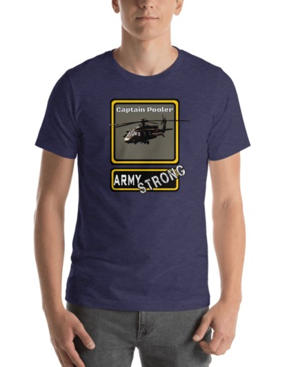 airplaneTees PERSONALIZE IT - Army Strong Tee, Army Mom, Dad, Rank, Class you name it. Short-Sleeve Unisex T-Shirt 27