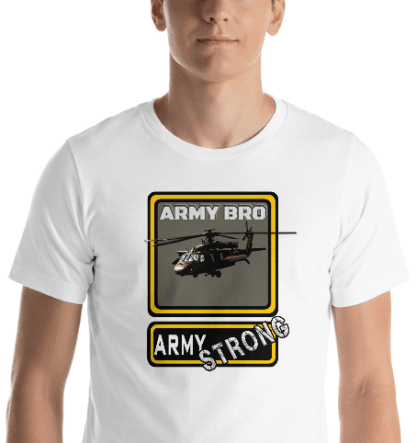 airplaneTees PERSONALIZE IT - Army Strong Tee, Army Mom, Dad, Rank, Class you name it. Short-Sleeve Unisex T-Shirt 19