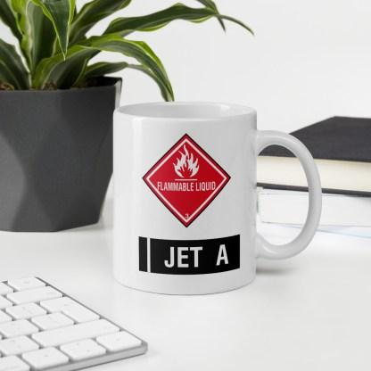airplaneTees Jet A Mug 6