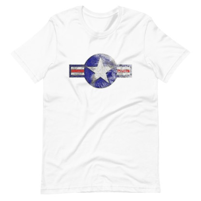 airplaneTees Roundel US Armed Forces tee weathered...Short-Sleeve Unisex T-Shirt 6