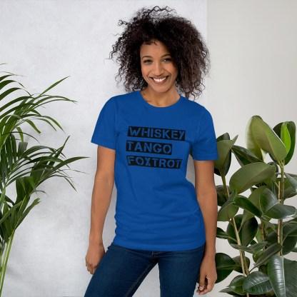 airplaneTees WTF, Whiskey Tango Foxtrot Tee... Short-Sleeve Unisex T-Shirt 5