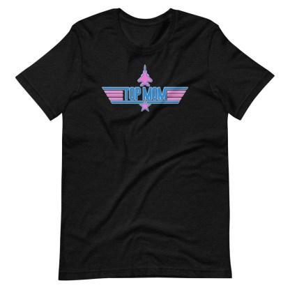 airplaneTees Top Mom tee in Pink... Short-Sleeve Unisex 7