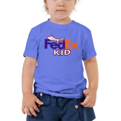airplaneTees FedEx Kid Toddler Tee... Short Sleeve 3