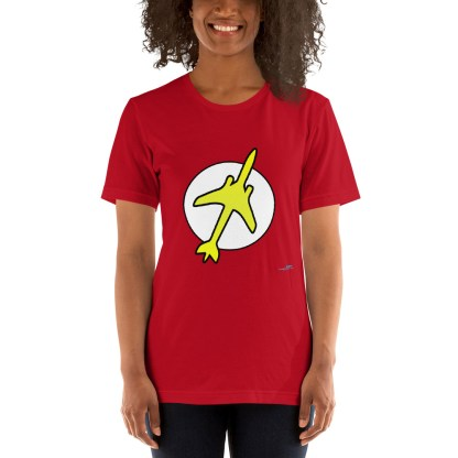 airplaneTees The Pilot Flash Tee... Short-Sleeve Unisex T-Shirt 7