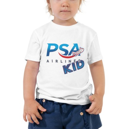 airplaneTees PSA Airlines Kid toddler tee... Short Sleeve 3