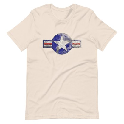 airplaneTees Roundel US Armed Forces tee weathered...Short-Sleeve Unisex T-Shirt 8