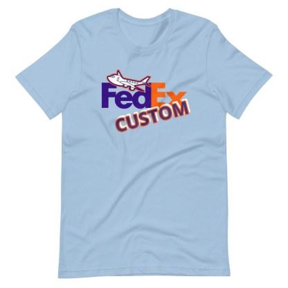 airplaneTees CUSTOM FedEx Tee Guy/Gal Tee Short-Sleeve Unisex 9
