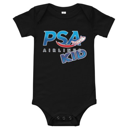 airplaneTees PSA Airlines Kid Onesie 3