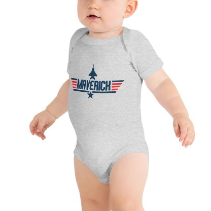 airplaneTees Maverick Onesie 2