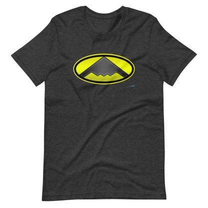 airplaneTees B2 Bomber Batman Tee... Short-Sleeve Unisex T-Shirt 1