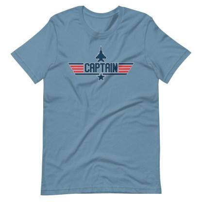 airplaneTees Captain Maverick Style Tee... Short-Sleeve Unisex 11
