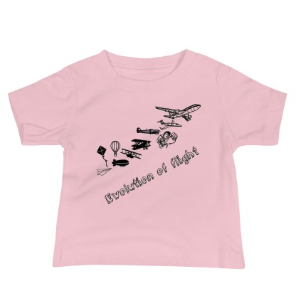 airplaneTees Evolution of Flight infant tee... Jersey Short Sleeve 5