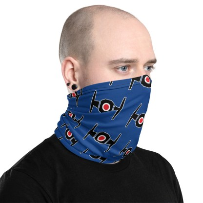 airplaneTees Tie Fighter Face Mask/Face Covering/Neck Gaiter 2